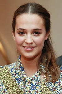 Alicia Vikander at the NY premiere of