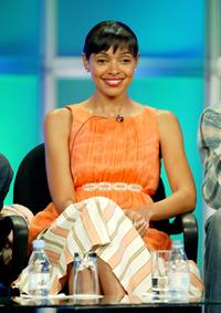 Tamara Taylor at the 2005 Summer UPN Television Critics Press Tour.