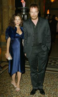 Anna Friel and David Thewlis at the UK Party of