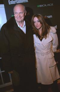 Fred Dalton Thompson and Jeri at the Entertainment Weekly's Oscar viewing party.