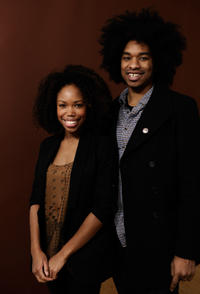 Namik Minter and Terence Nance at the portrait session of