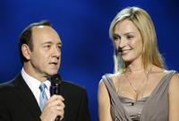 Uma Thurman and Kevin Spacey at the Nobel Peace Prize Concert in Oslo.