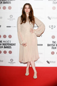 Alice Englert at the British Independent Film Awards in London.