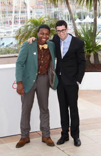Ty Hickson and director Adam Leon at the photocall of