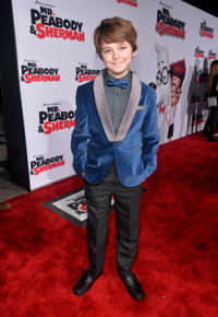 Max Charles at the California premiere of