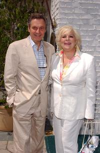 Joseph Bologna and his wife Renee Taylor at the opening of Nana's Garden.