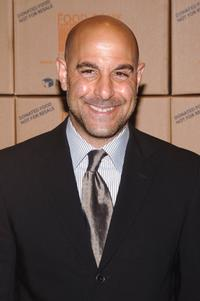 Stanley Tucci at the Food Bank for New York City's Annual