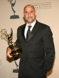 Stanley Tucci at the 2007 Primetime Creative Arts Emmy Awards.