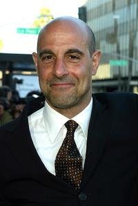 Stanley Tucci at the Academy of Motion Pictures Arts and Sciences, attends the premiere of the