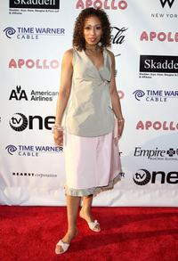 Tamara Tunie at the Apollo Theater Fourth Annual Hall Of Fame Induction Ceremony.