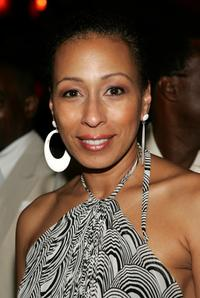 Tamara Tunie at the after party of the Third Annual Apollo Theater Spring Benefit.
