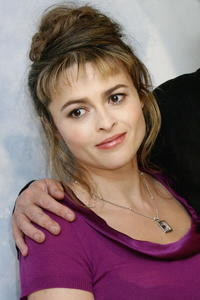 "Helena Bonham Carter at the photocall for ""Corpse Bride"" in Paris, France."