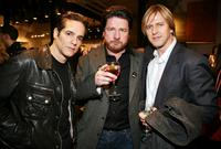 Yul Vazquez, Mike Landry and Jayce Bartok at the 13th Annual Gen Art Film Festival launch party.