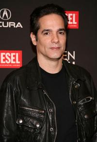 Yul Vazquez at the 13th annual Gen Art Film Festival launch party.