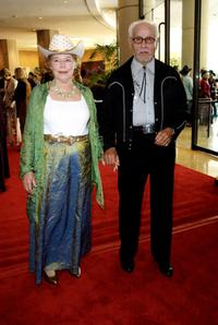 Eli Wallach and Ann Jackson at the Nineteenth Annual Golden Boot Awards.