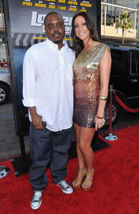 Jason Weaver and Guest at the California premiere of
