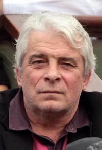 Jacques Weber at the French Tennis Open Women Singles Final Match.