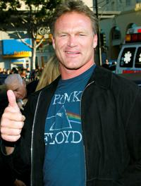 Brian Bosworth at the premiere of