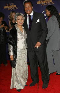 Ruby Dee and Billy Dee Williams at the Film Life's 2006 Black Movie Awards.