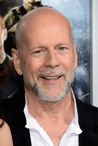 Bruce Willis at the California premiere of