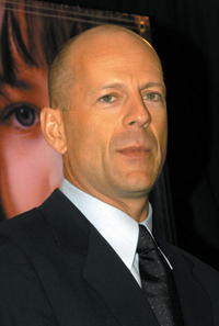 Bruce Willis at the Los Angeles Adoption Day Press Conference.