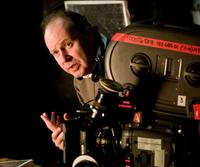 Director David Yates on the set of