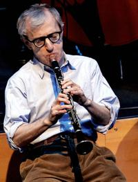 Woody Allen at the Athens Concert Hall.
