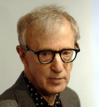 Woody Allen at the premiere of