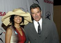 Victoria Rowell and Eric Braeden at the Rowell Foster Children's Positive Plan 3rd Annual High Tea.