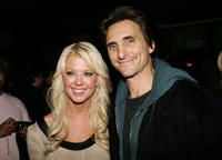 Lawrence Bender and Tara Reid at