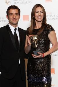 Clive Owen and Kathryn Bigelow at the Orange British Academy Film Awards 2010.