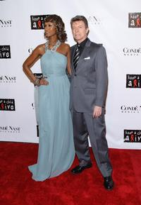 David Bowie and Iman at the 4th Annual Black Ball concert for Keep a Child Alive. (KCA)