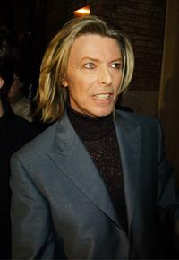 David Bowie at the 11th Annual Tibet House Benefit Concert.