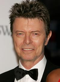 David Bowie at the 25th Anniversary of the Annual CFDA Fashion Awards.