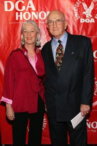 Jane Alexander and Ed Sherin at the 2006 DGA Honors.