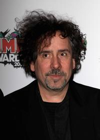 Tim Burton at the Shockwaves NME Awards 2009.