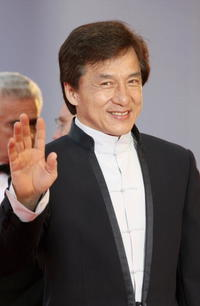 Jackie Chan at the Closing Ceremony of the 63rd Venice Film Festival.
