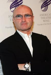 Phil Collins at the American Theatre Wing Annual Spring Gala.