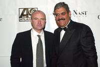 Phil Collins and Steve Florio at the City of Hope Gala.