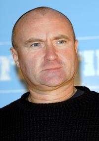 Phil Collins at the promotion of new album
