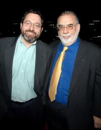 Francis Ford Coppola and Michael Barker at the California premiere of