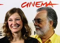 Francis Ford Coppola and Alexandra Maria Lara at the second annual RomeFilmFest for the photocall of
