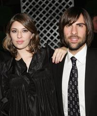 Sofia Coppola and Jason Schwartzmen at the New York Film Festival screening after party for