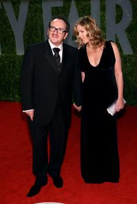 Elvis Costello and Diana Krall at the 2009 Vanity Fair Oscar party.