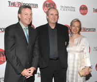 Wes Craven, John Kilcullen and Iya Labunka at the Hollywood Reporter Key Art Awards.