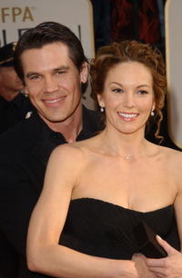 Josh Brolin and Diane Lane at the 60th Annual Golden Globe Awards in Beverly Hills.