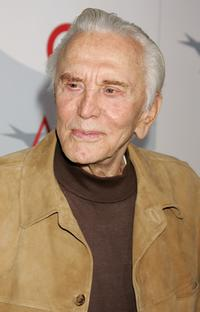 Kirk Douglas at AFI's 40th Anniversary Celebration Lunch.