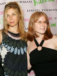 Sara Driver and producer Stacey Smith at the premiere of