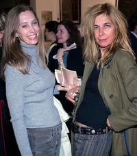 Deborah Lutz and Sara Driver at the Campaign For A Landmine Free World.