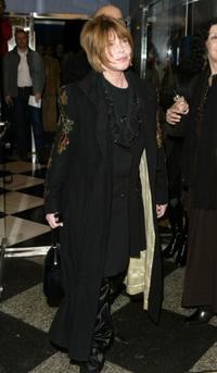 Lee Grant at the screening of
